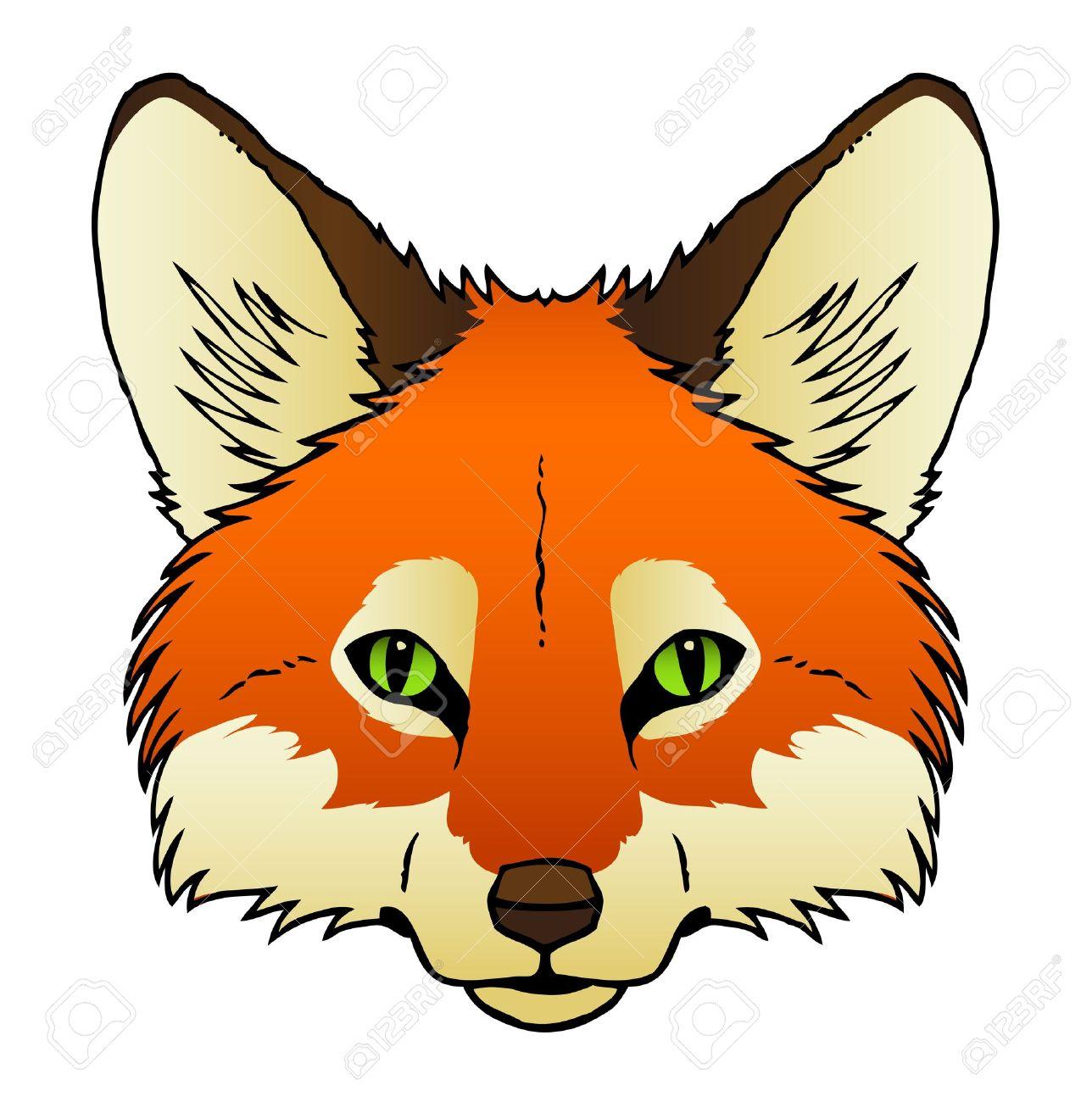 1288x1300 Red Fox Face Clip Art Cliparts