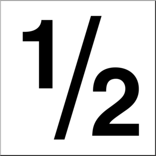304x304 Clip Art Numerical 02 12 Bampw I Abcteach