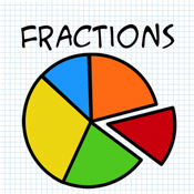 175x175 Fractions Clipart