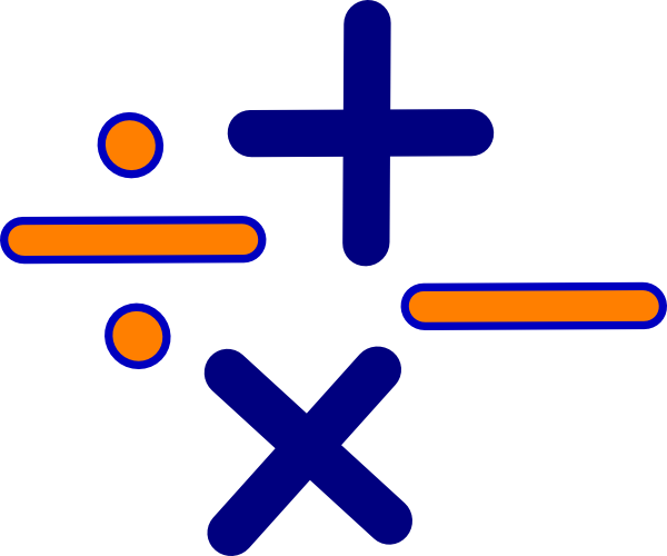 600x500 Math Fractions Clipart