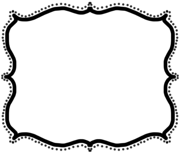 Frame Black And White Clipart