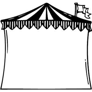 300x300 Circus Tent Frame Clipart Cliparts Of Circus Tent Frame Free