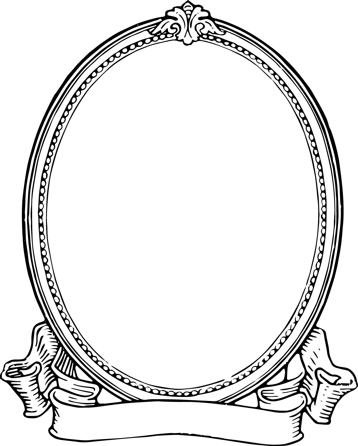 1166x1455 Vintage Photo Frame Oh So Nifty Vintage Graphics