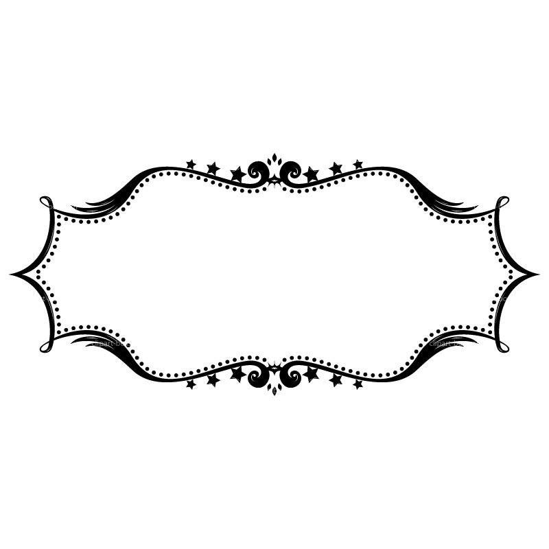 Frame Clip Art Black And White