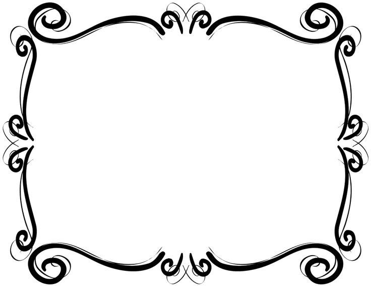 736x566 Free Clip Art Borders Scroll