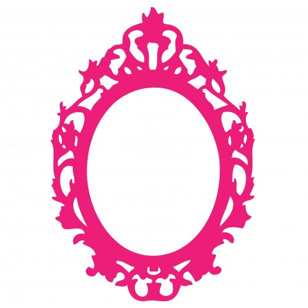 615x615 Ornate Pink Frame Clipart Clipart Panda
