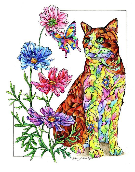550x700 395 Best Art By Sherry Shipley Images Art Print