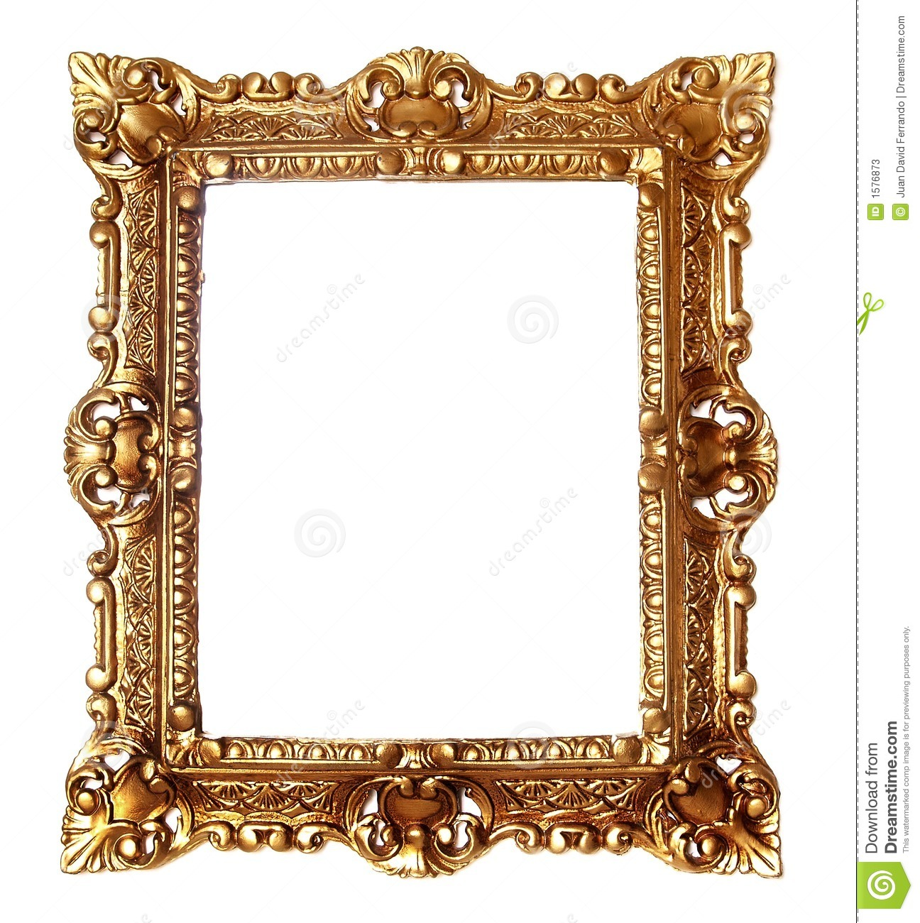 1296x1300 Free Gold Picture Frame Clipart