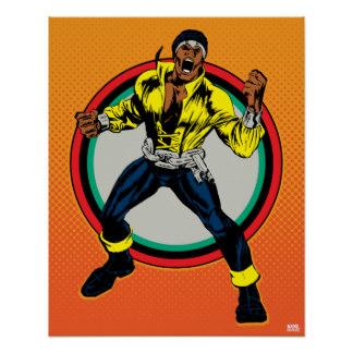 324x324 Luke Cage Comic Book Art Amp Framed Artwork Zazzle