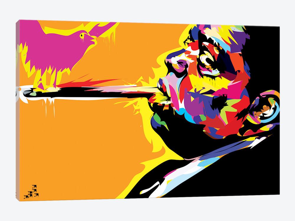 1000x750 The Notorious B.i.g. Canvas Art By Technodrome1 Icanvas