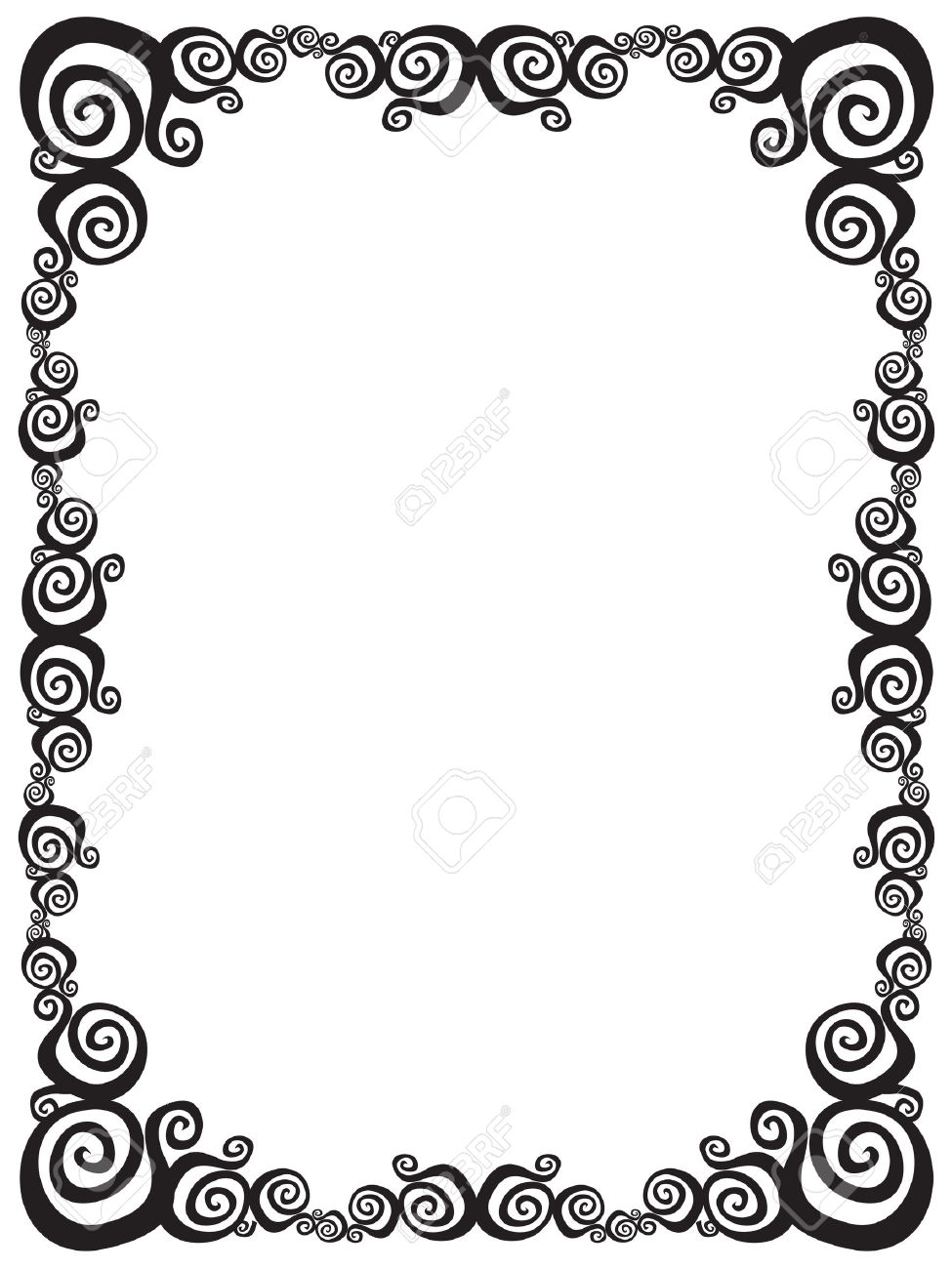 Frames And Borders Black White Free Best
