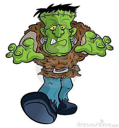 400x431 Frankenstein Clipart Comic