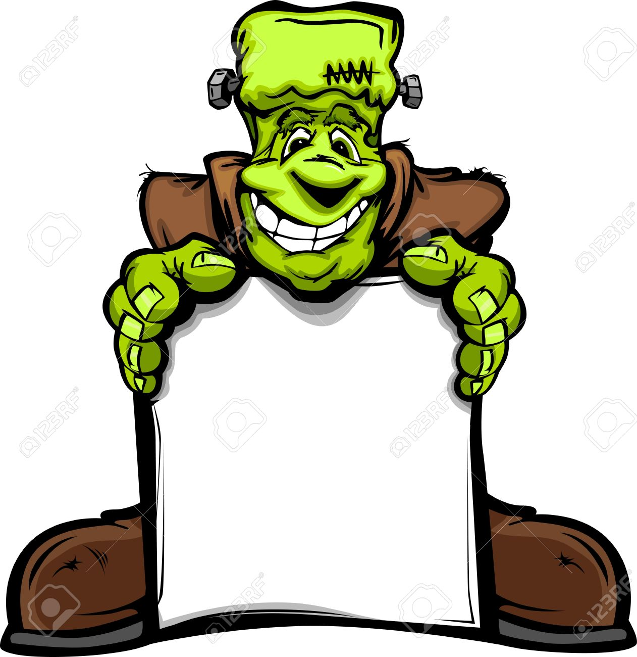 1262x1300 Frankenstein Clipart Halloween Monster