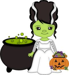 Frankenstein Cartoon Face Clipart