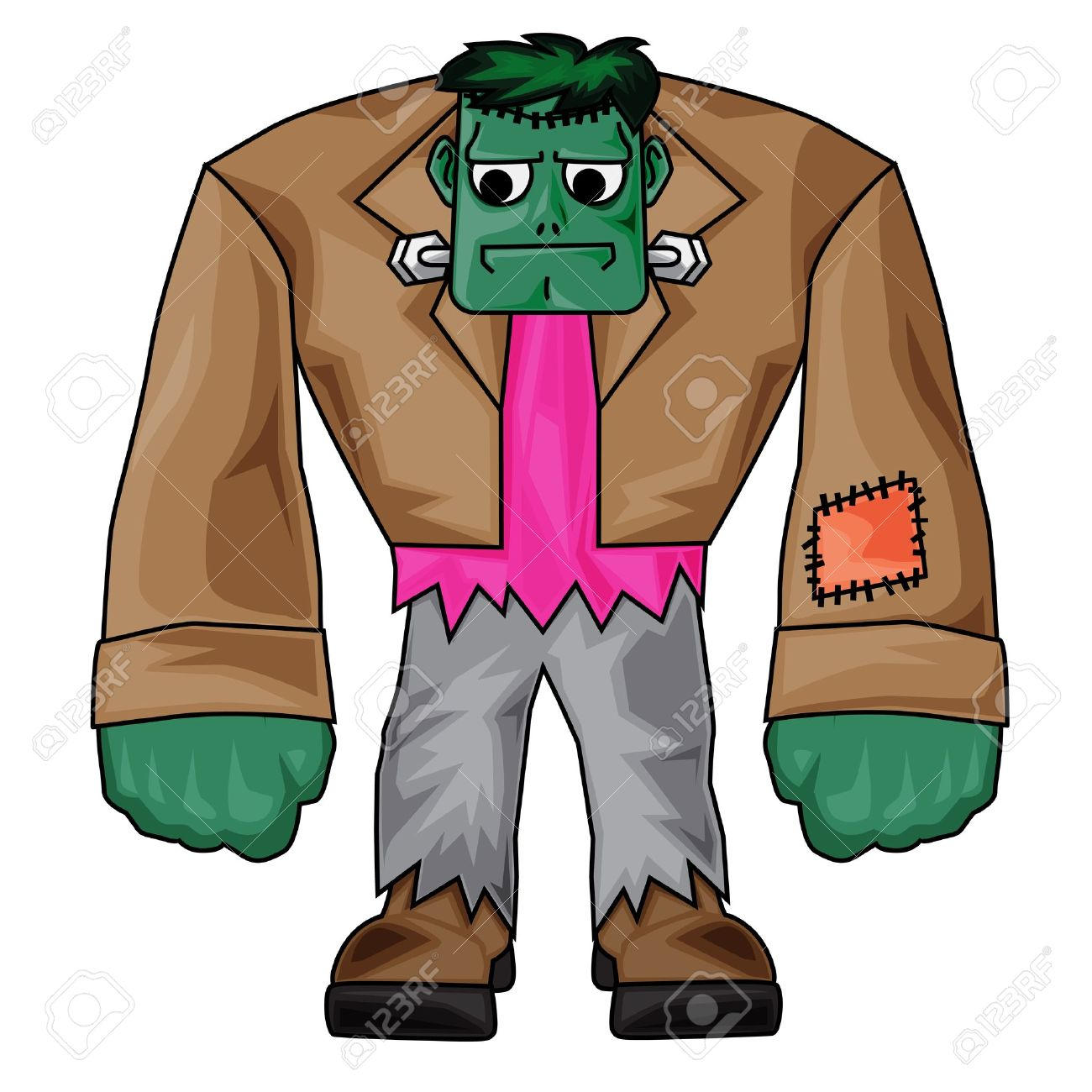 1300x1300 Frankenstein Clipart Cartoon