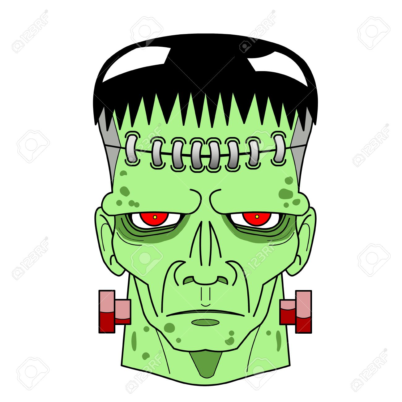 1300x1300 Frankenstein Clipart Comic
