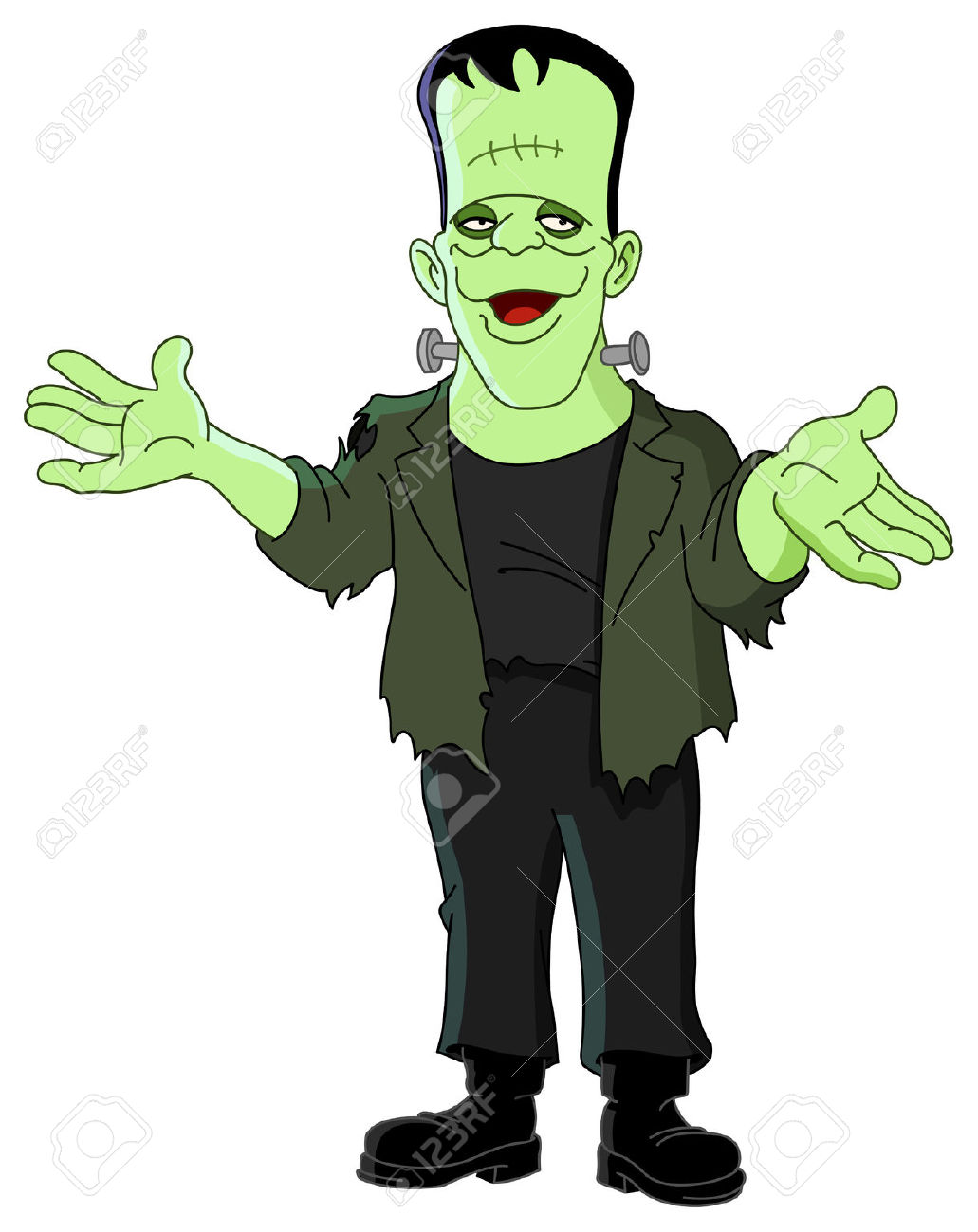 1031x1300 Frankenstein Clipart Hands