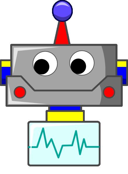 438x595 Head Clipart Robot