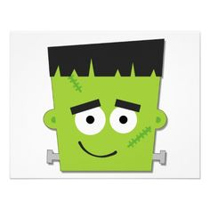 236x236 Frankenstein Face Clip Art
