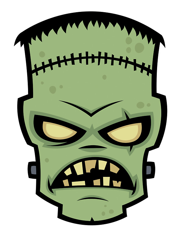 600x800 Frankenstein clipart stitch