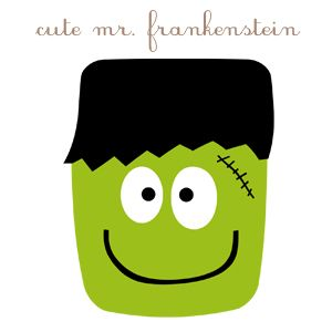 300x300 cute clipart frankenstein