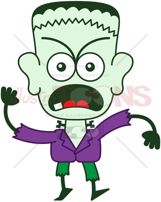 558x700 Frankenstein Feeling Furious