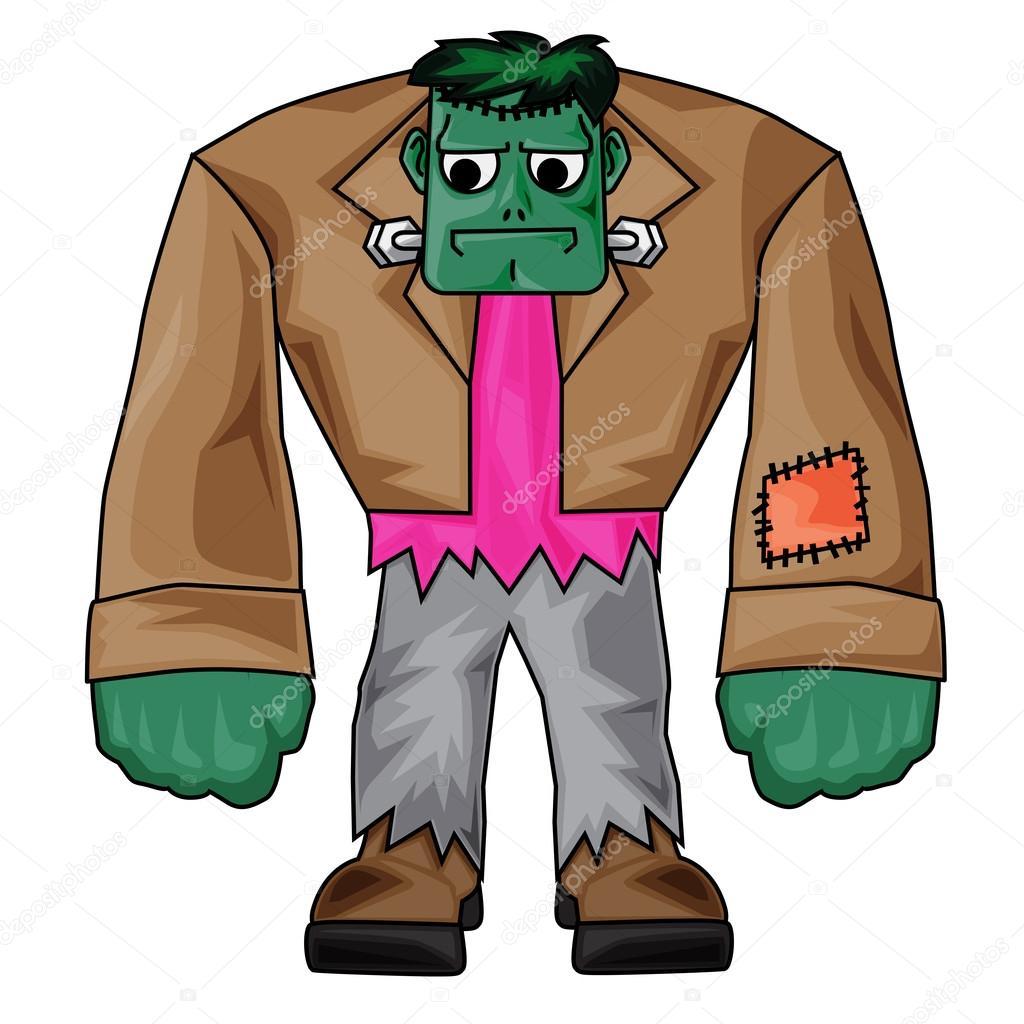 1024x1024 Frankenstein Halloween Clip Art Stock Photo Kozzi2