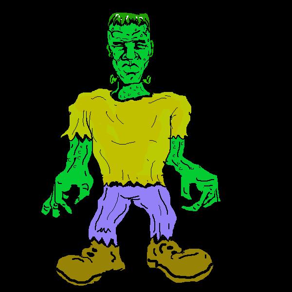 600x600 Halloween Frankenstein Clipart 2196280