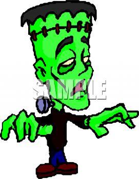 271x350 Kid Wearing A Frankenstein Costume For Halloween