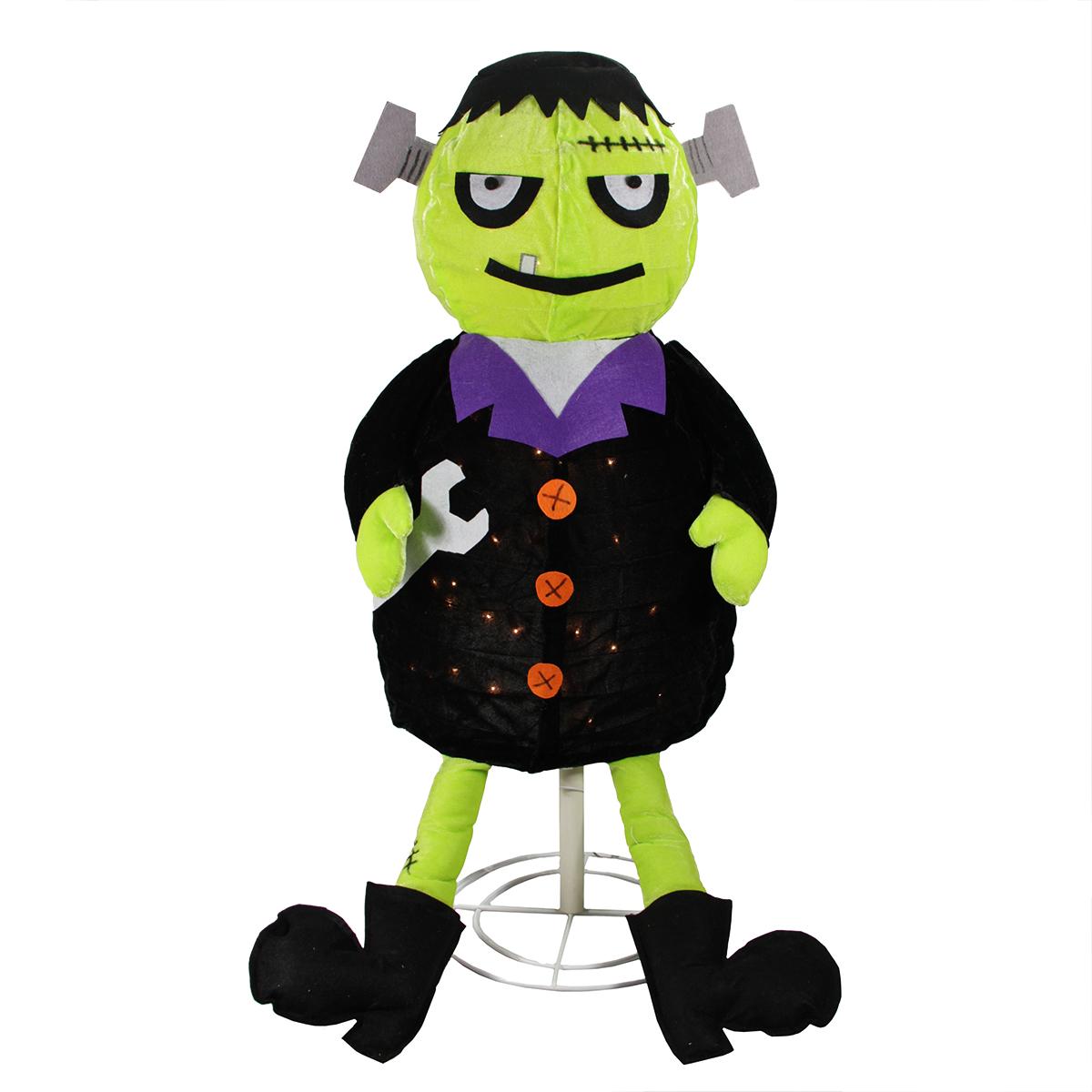 1200x1200 Lighted Creepy Standing Frankenstein Monster Halloween Decoration