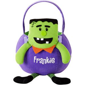 300x300 Personalized Frankenstein Halloween Basket Nails
