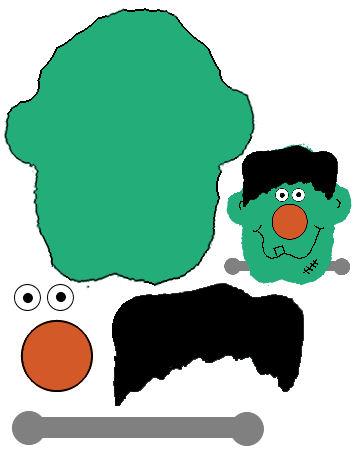 358x463 Cartoon Frankenstein