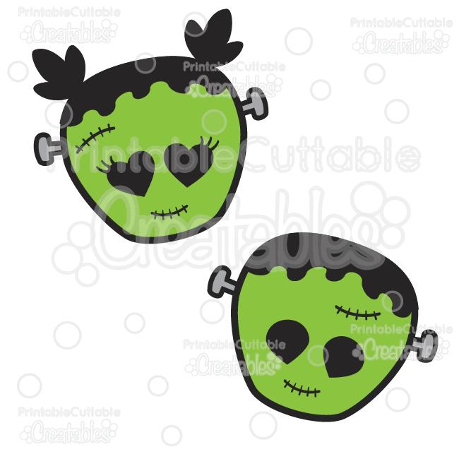 650x650 Cute Frankenstein Halloween Svg Cut Files Amp Clipart