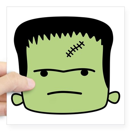 460x460 Frankenstein Car Accessories Auto Stickers, License Plates