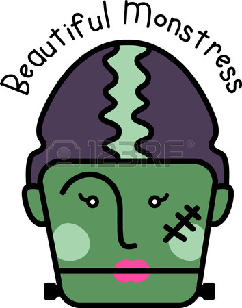 354x450 47 Bride Of Frankenstein Cliparts, Stock Vector And Royalty Free