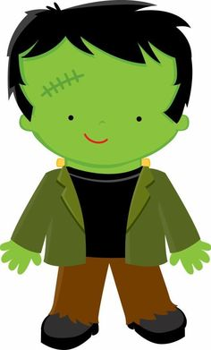 236x391 Cute Halloween Monster Clip Art Cute Frankenstein Cartoon