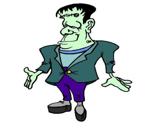 500x400 Best Frankenstein Clipart