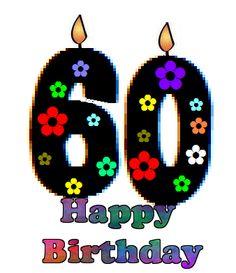 236x273 60 Birthday Clip Art