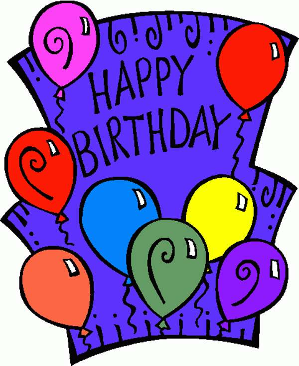 600x733 Free Birthday Card Clipart