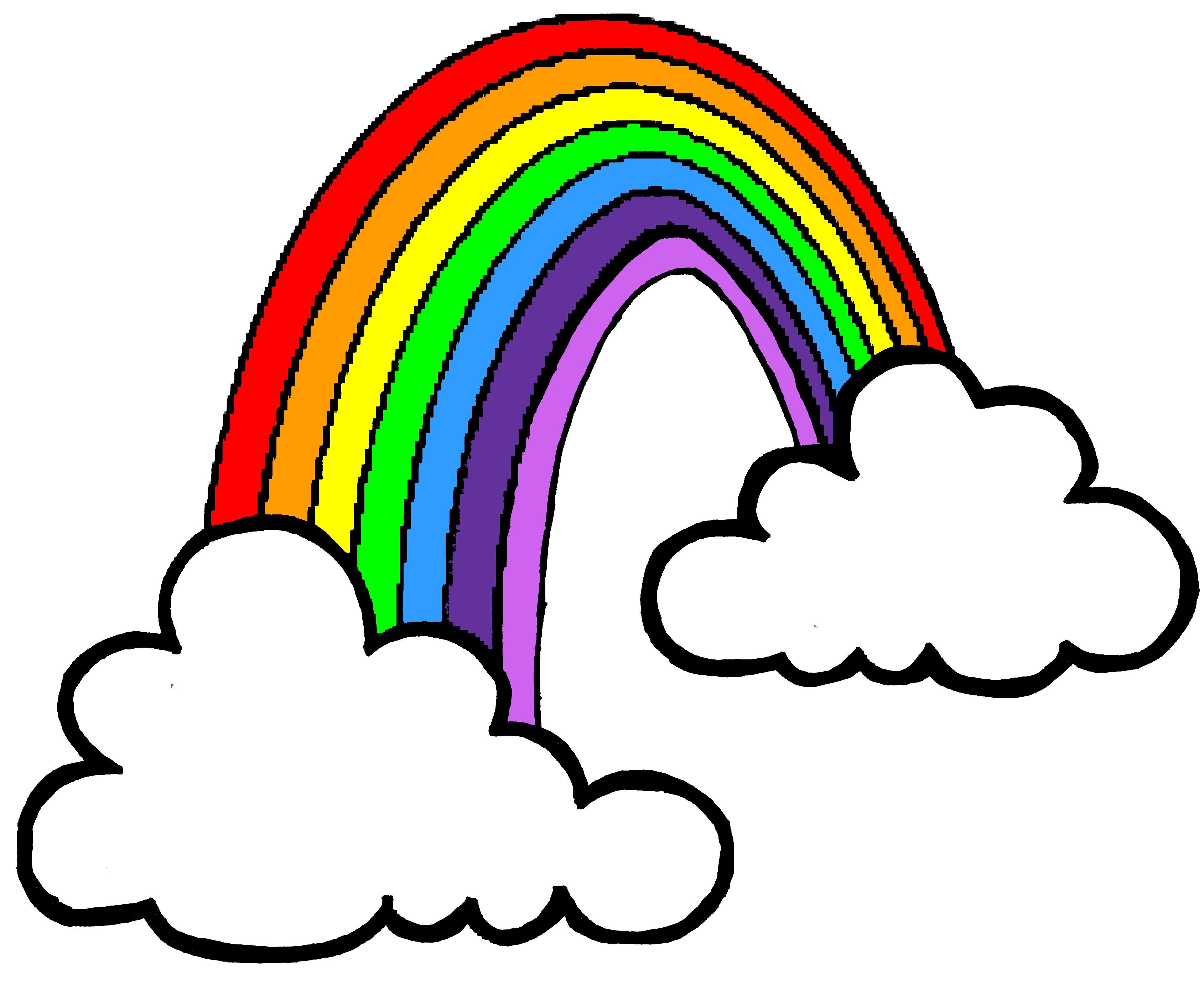 3380x2765 Bampw Clipart Rainbow