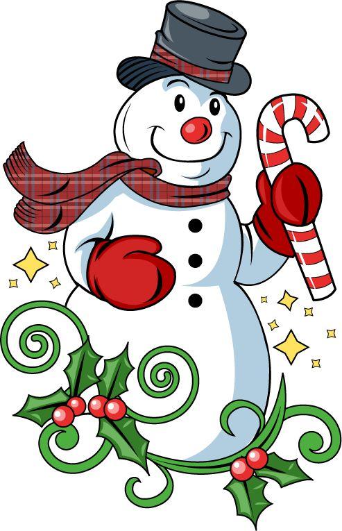 493x765 Red Clipart Snowman