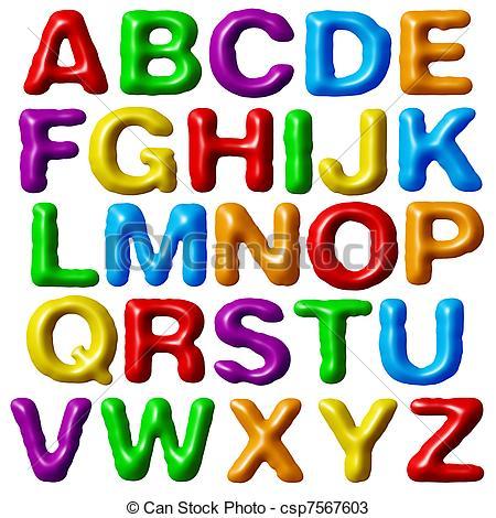 450x470 Free Clipart Alphabet