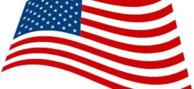 272x125 American Flag Clipart Black And White Clipart Panda