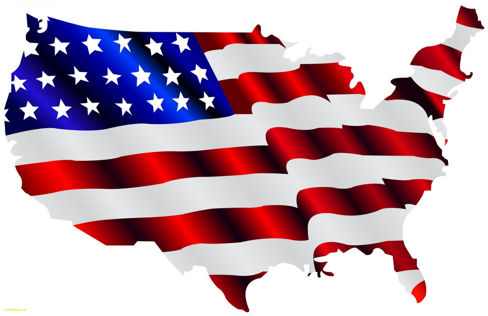 1600x1037 American Flag Free American Flags Clipart Clipartcow Clipartix
