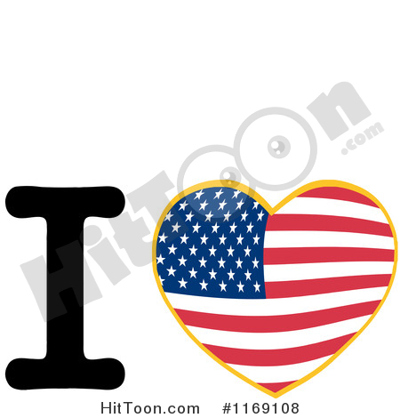 450x470 Large Clipart American Flag Letters