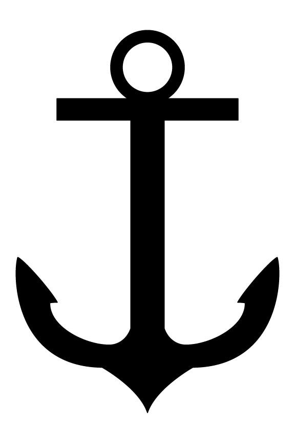 576x864 Ba Anchor Clipart Free Clipart Images Cliparting Anchor Clip Art