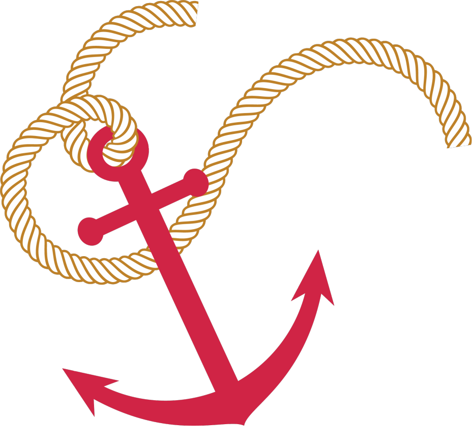 928x870 Nautical Anchor With Rope Clipart