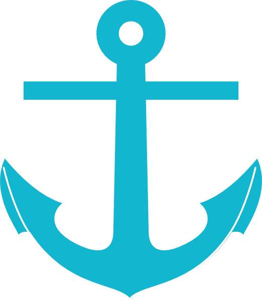 522x598 Turquoise Clipart Anchor