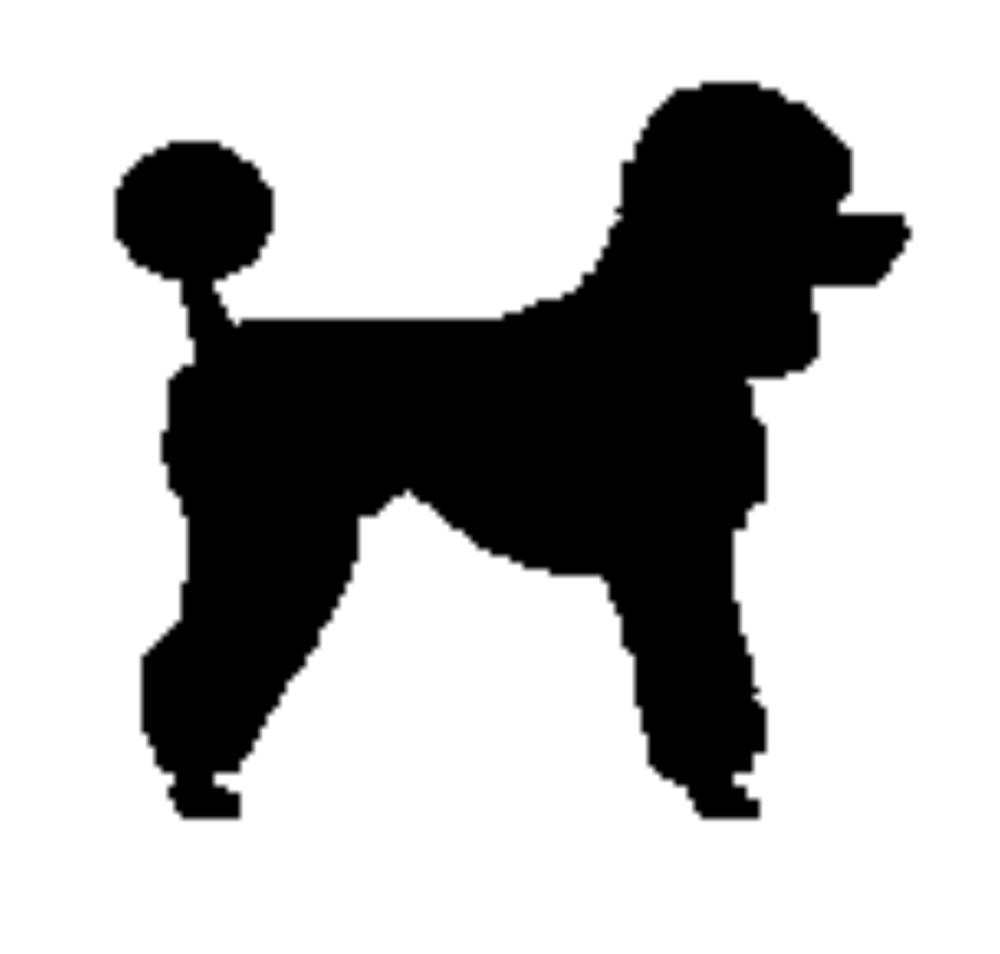 1000x954 Animated Poodle Clip Art Poodle Clipart