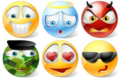 400x260 17 Nice Emoticons and Smileys Icon Packs
